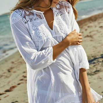 Wander Into the Sunset Beach Coverup