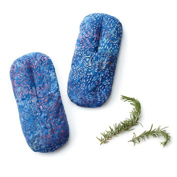 Comfort Herbal Warming Slippers | aromatherapy slippers