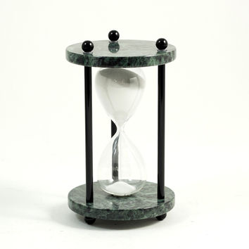 4 Minute Green Marble Sand Timer