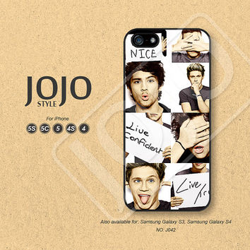 iPhone 5 Case, iPhone 5c Case, iPhone 4 Case, iPhone 5s Case, iPhone 4s Case, One Direction, Phone Cases, Phone Covers - J042