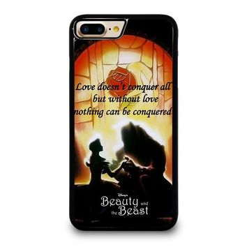 BEAUTY AND THE BEAST QUOTE iPhone 4/4S 5/5S/SE 5C 6/6S 7 8 Plus X Case