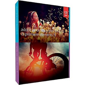 Adobe Photoshop and Premiere Elements 15 [Boxed] | Staples