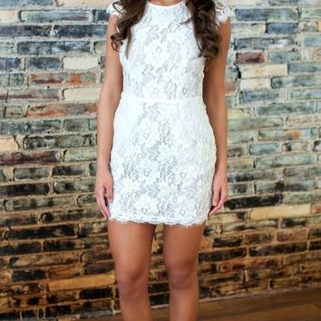 Forever Divine Lace Dress