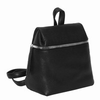 KARA PEBBLE LEATHER SMALL BACKPACK - WOMEN - BAGS - KARA - OPENING CEREMONY