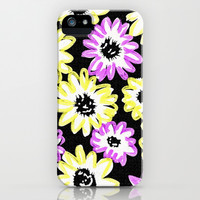 Color daisy pattern iPhone & iPod Case by Ylenia Pizzetti
