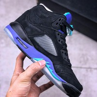 Air Jordan 5 Retro Black Grape - Best Deal Online