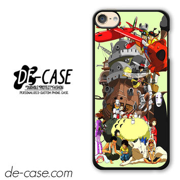 Mononoke Totoro Anime Manga DEAL-7375 Apple Phonecase Cover For Ipod Touch 6