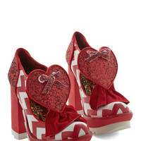 Irregular Choice Statement My Heart Will Glow On Heel