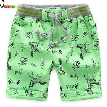 2016 New Children Boys Quick Dry Kids Shorts Fashion Kids Beach Shorts for Boys Trench Adjustable Breathable Big Boy Shorts