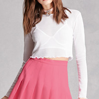Vintage Pleated Mini Skirt