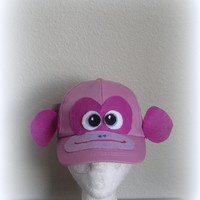 Monkey hat Costume Children costume Kids toy Teacher gift Monkey costume child adult Children Hat child toy kids Eco friendly kids Halloween