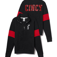 University of Cincinnati Bling Half-Zip Pullover