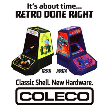 Coleco Evolved Mini Arcades