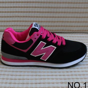 New Balance 2018 new spring N word casual running shoes for men and women NO.1
