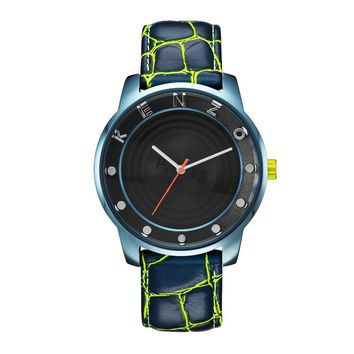 Kenzo Unisex Watches Blue