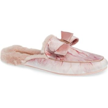 Ted Baker London Faux Fur Slipper (Women) | Nordstrom