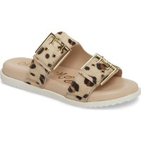 Naughty Monkey Genuine Calf Hair Double Strap Sandal (Women) | Nordstrom