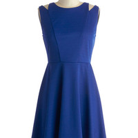 ModCloth Mid-length Sleeveless A-line What Really Makes You Dramatic Dress