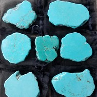Turquoise Slab Phone Grips
