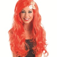 Party King Female Long Mermaid With Shells Wig WG665