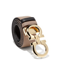 Large Double Gancio Belt | Salvatore Ferragamo