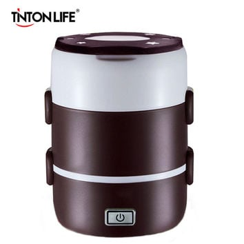 rice cooker Mini rice cooker two/three layers multifunctional insulation plug-in electric heating cooking lunch box