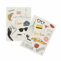 New York-Paris Memoir Notebook by Garance Doré | Made in USA