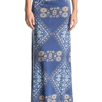 Forever Found Printed Maxi Skirt 889351487971 | Roxy