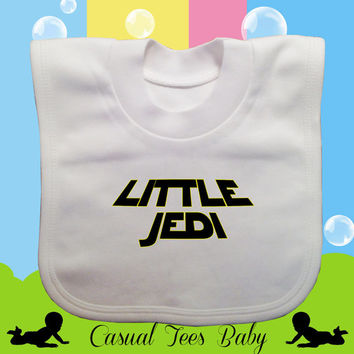 Little Jedi Starwars Themed Baby Bib