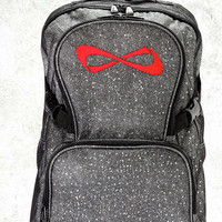 Nfinity Sparkle Backpack- RED