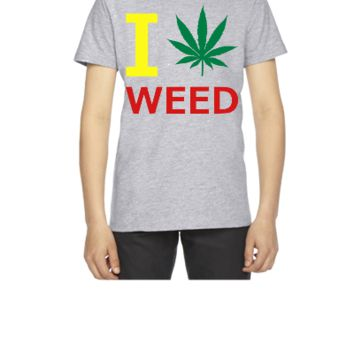 i love weed - Youth T-shirt