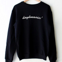 Daydreamin' Oversized Sweater - Black
