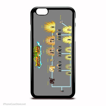 Dragon Ball Z Saiyan Level Chart Case For Iphone Case