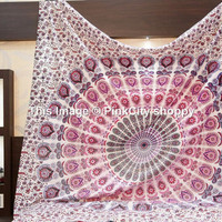 Mandala hippie tapestry wall hanging indian bohemian Bedding Bedspread Throw queen Mandala Tapestries wall hanging boho tapestries wall art