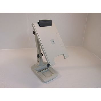 Fellowes Document Holder With Flexi-Arm Gray Weighted Base 21128 -- Used