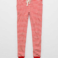 Aerie Waffle Jogger, Red