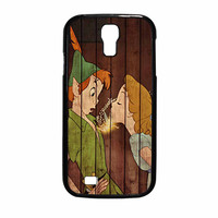Wendy Kiss Peterpan Wood Samsung Galaxy S4 Case