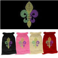 Mirage - Mardi Gras - Fleur De Lis Knit Dog Sweater