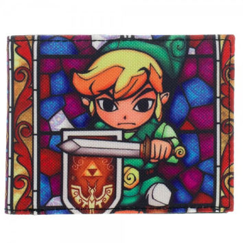 Nintendo Zelda Color Bi-Fold Wallet