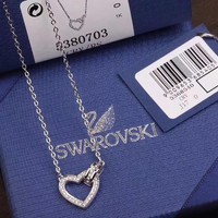 """Swarovski"" new couple necklace"