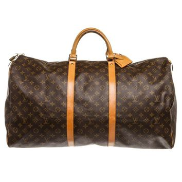 Louis Vuitton Keepall 60cm Duffle Bag