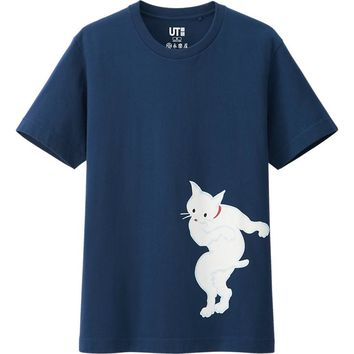 MEN EIRAKUYA GRAPHIC SHORT SLEEVE T SHIRT | UNIQLO