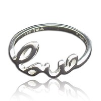 Tomas Sterling Silver Love Ring