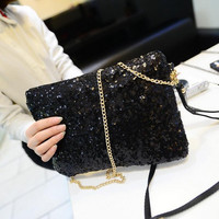 Women Handbag Shoulder Bags Tote Nightclub Purse Messenger Black 27cm x18cm = 1705552132