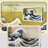 Tatebanko Paper Diorama Kit - Hokusai - The Great Wave