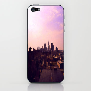 Cleveland Skyline iPhone & iPod Skin by Toni Tylicki | Society6