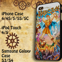 disney hercules Samsung Galaxy S3/ S4 case, iPhone 4/4S / 5/ 5s/ 5c case, iPod Touch 4 / 5 case