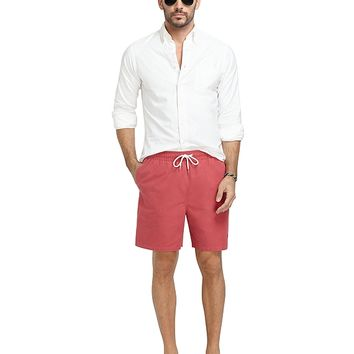 "Men's Montauk 6"" Golden Fleece Solid Swim Trunks"