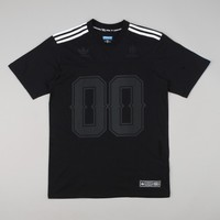 Adidas X Real Jake S/S V-Neck Jersey - Black