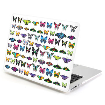 Hard Case Print Frosted (Butterfly Pattern) for 13 MacBook Air